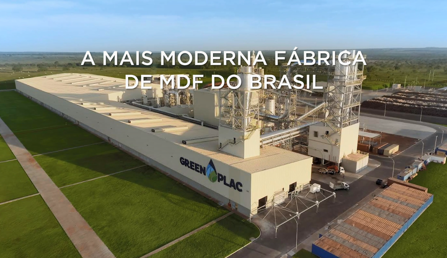 THE MOST MODERN MDF PLANT IN BRAZIL - ASPERBRAS
