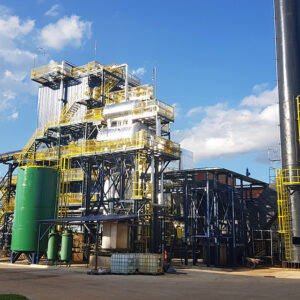 ASPERBRAS ENERGIA BEGINS ACTIVITIES OF GUARAPUAVA BIOMASS PLANT - ASPERBRAS