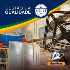 CERTIFICAÇÃO MANUTENÇÃO ISO 9001 - ASPERBRAS