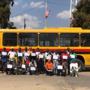 Asperbras Africa delivers bus fleet in Lubango - ASPERBRAS