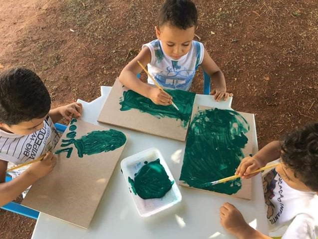 Colnaghi Foundation stimulates child development through art - ASPERBRAS